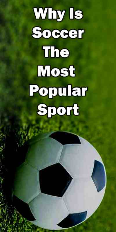 Soccer is a popular game